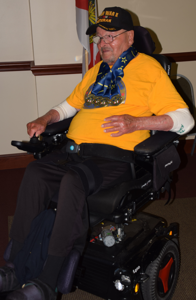 Richard Lilien Wheelchair Senior athlete